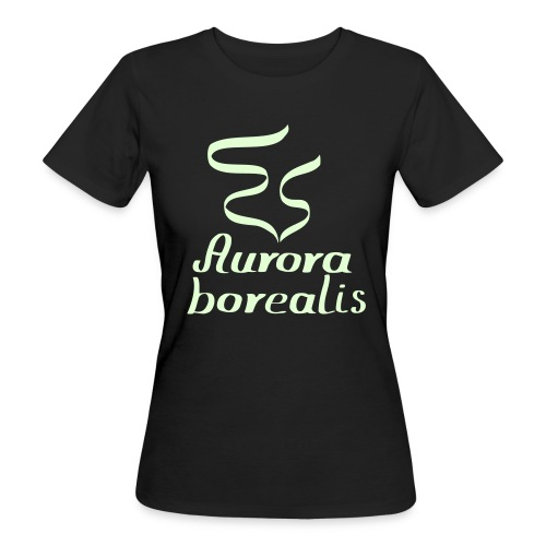 Aurora borealis Shirt - Frauen Bio-T-Shirt