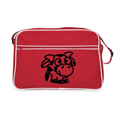kleine Kuh - Retro Tasche