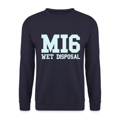 Mi6 WET DISPOSAL REFLECTIVE - Men's Sweatshirt