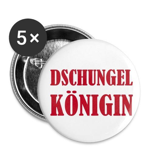 Buttons Dschungelkönigin - Buttons groß 56 mm