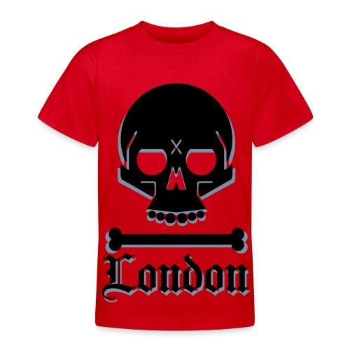 Kids' Skull - Teenage T-shirt