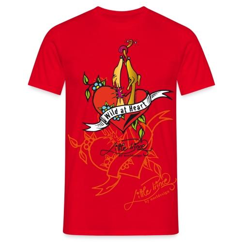 Wild at heart! - Männer T-Shirt
