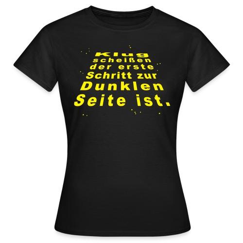 Klugscheißen - Frauen T-Shirt