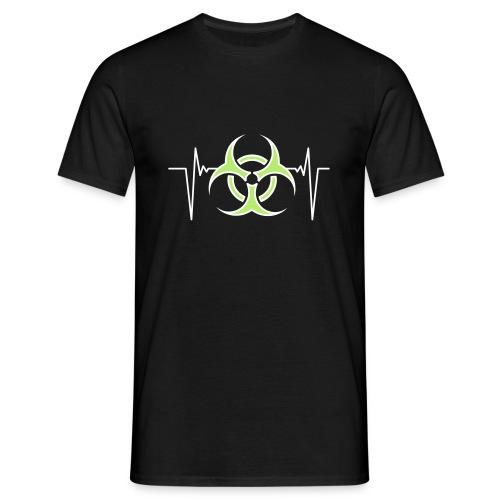 Biohazard puls shirt - Männer T-Shirt