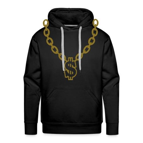 chain - Sweat-shirt à capuche Premium pour hommes