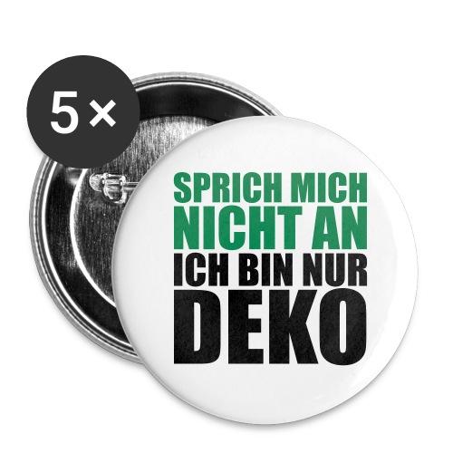 CrazYTunes - Der No-Button - Buttons groß 56 mm (5er Pack)
