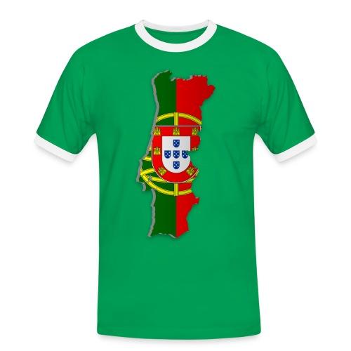 Portugal Shirt - Männer Kontrast-T-Shirt