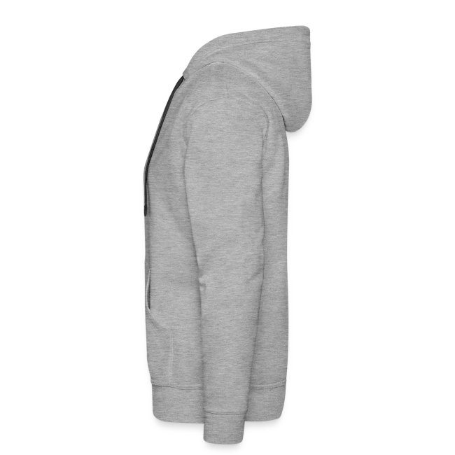 New mens grey hoodie with red TS logo