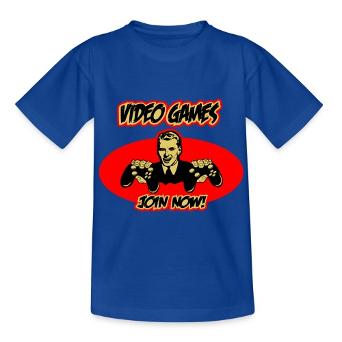 Video Games - Join now! - Teenager T-Shirt