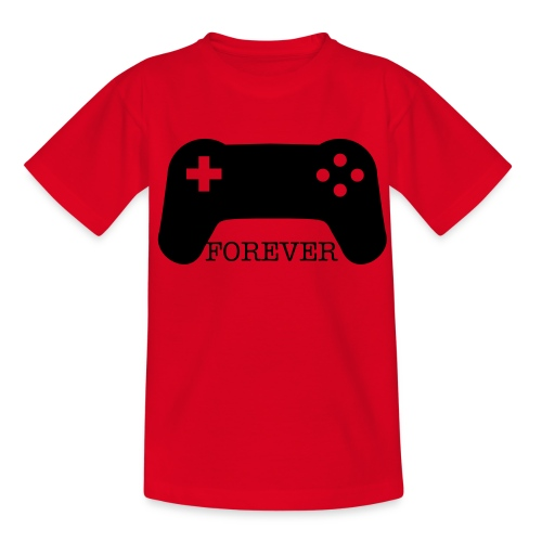 Gamer-Forever - Teenage T-Shirt