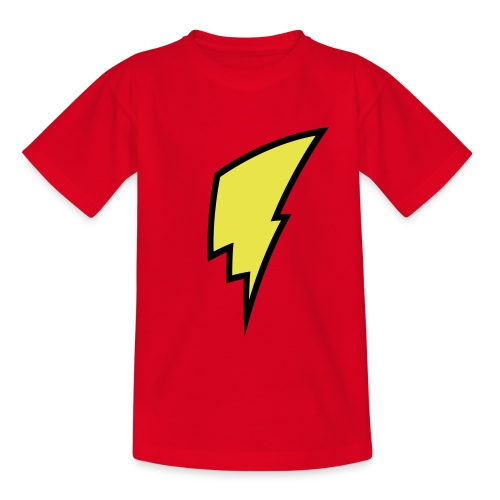 Lightning Bolt - Kid's Shirt - Teenage T-Shirt