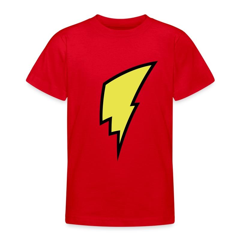 Lightning Bolt - Kid's Shirt - Teenage T-shirt