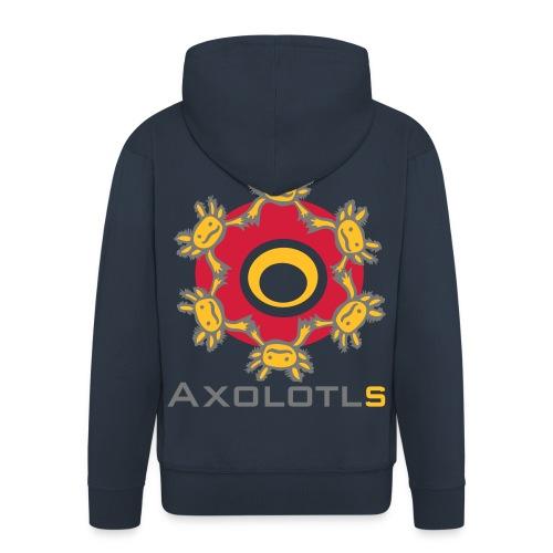 Axolotls - Männer Premium Kapuzenjacke