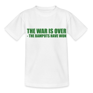 The War Is Over - Teenage T-shirt