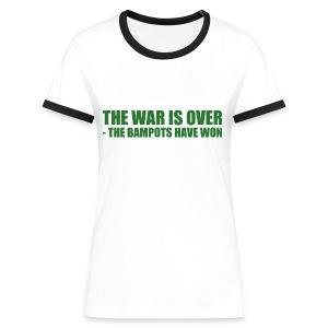 The War Is Over - Women's Ringer T-Shirt