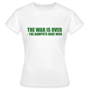 The War Is Over - Women's T-Shirt