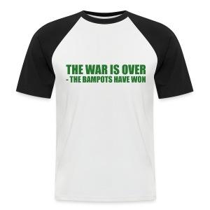 The War Is Over - Men's Baseball T-Shirt