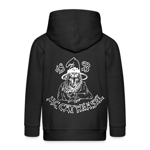 catweasel zipped hoodie kids - Kinder Premium Kapuzenjacke