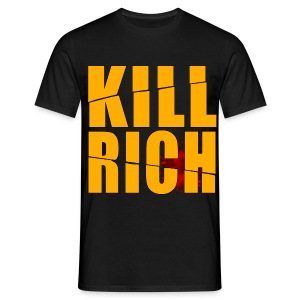 KILL RICH BLACK BIG - Camiseta hombre