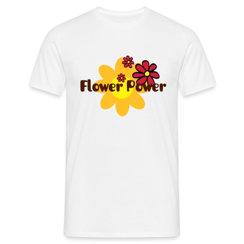 flower power - T-shirt Homme