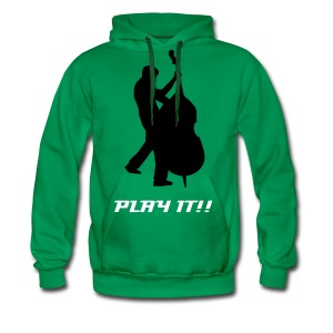 Play the Bass - Männer Premium Hoodie