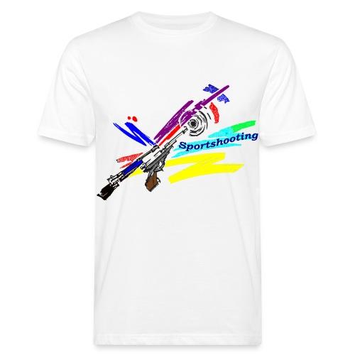 Organic Shirt  modernes Muster - Männer Bio-T-Shirt