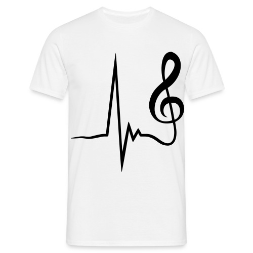 Music is Life! - Men's T-Shirt