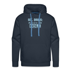 Smar-Tees Mens Rock & Hole Hoody - Men's Premium Hoodie