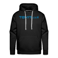 Hoodies & Sweatshirts ~ Men's Premium Hoodie ~ Tek'it Audio Black