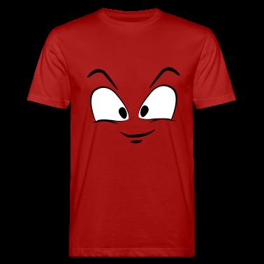 Divertente faccia da uomo T-shirt