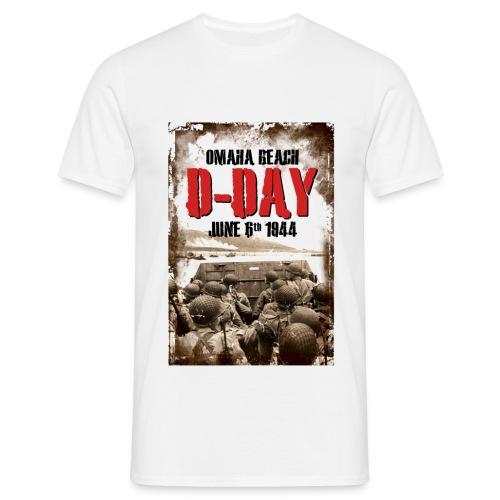 D-Day Omaha Beach - Camiseta hombre