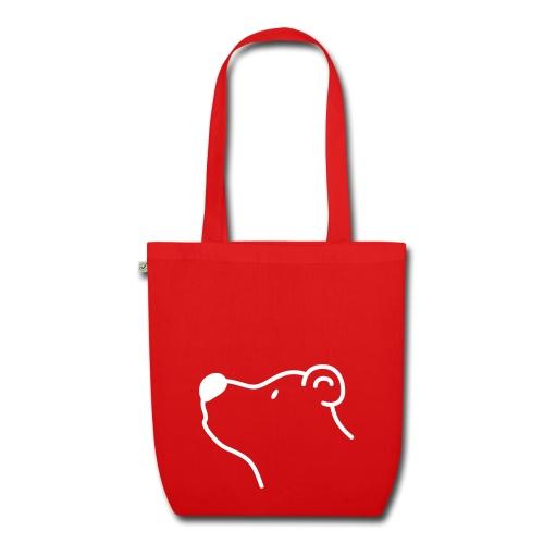 Rotbär Einkaufstasche - Bio-Stoffbeutel