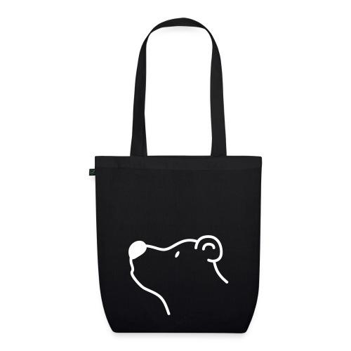 Schwarzbär Einkaufstasche - Bio-Stoffbeutel