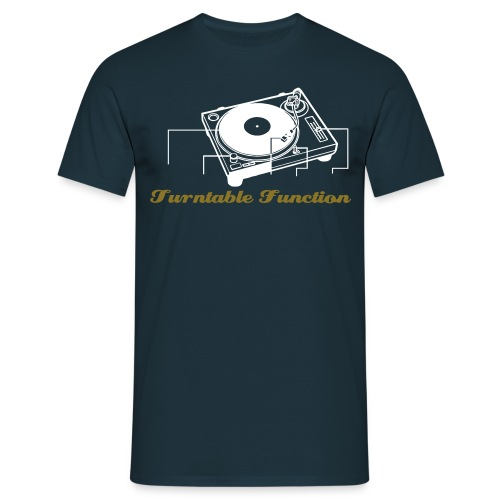 Turntable Function - Mannen T-shirt