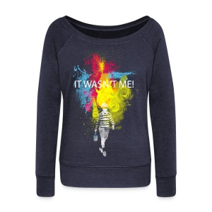 it wasn't me! Sweat-shirts - Pull Femme col bateau de Bella