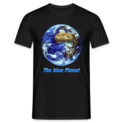 The blue Planet (Erde) - Männer T-Shirt