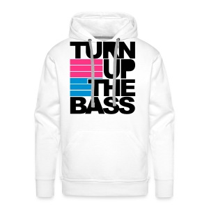 Mannen sweater Turn up the bass - Mannen Premium hoodie
