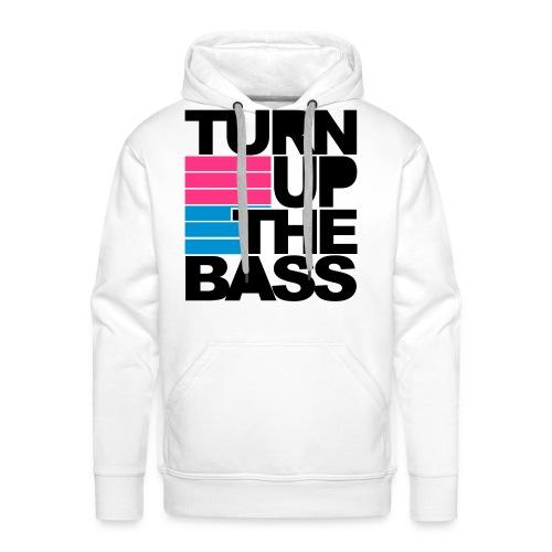 Mannen sweater Turn up the bass - Mannen Premium hoodie