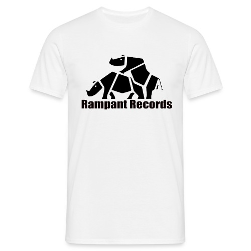 classic t-shirt front and back logo - Men's T-Shirt