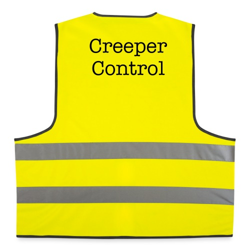 creeper control gelb - Warnweste