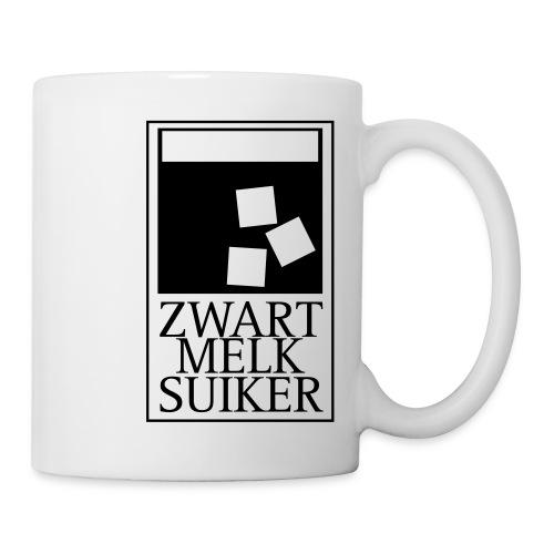 mok_zwarte_koffie_melk_suiker - Mug