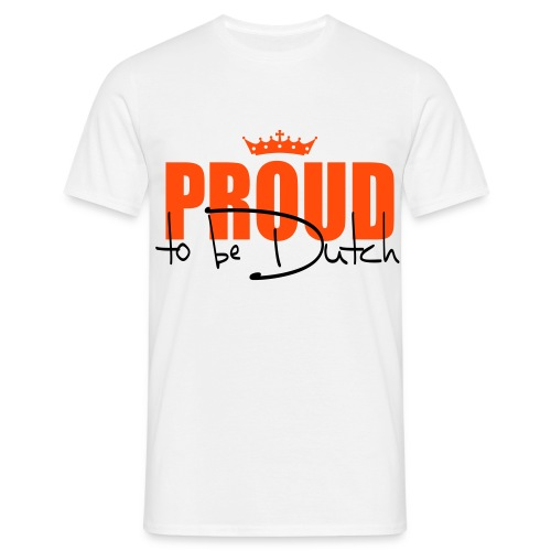 Proud to be Dutch - Soccer - Men's T-Shirt