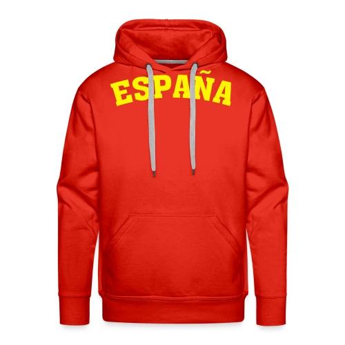 Sudadera España - Sudadera con capucha premium para hombre