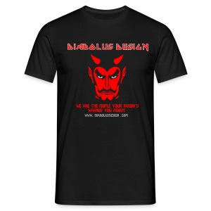 Diabolus Design T-Shirt - Men's T-Shirt