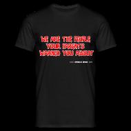 T-Shirts ~ Men's T-Shirt ~ Diabolus Design Motto T-Shirt