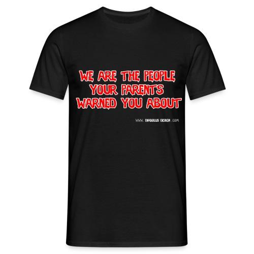 Diabolus Design Motto T-Shirt - Men's T-Shirt