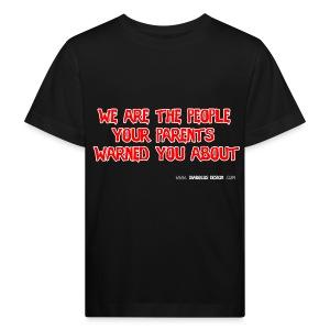 Diabolus Motto Kids T-Shirt - Kids' Organic T-shirt