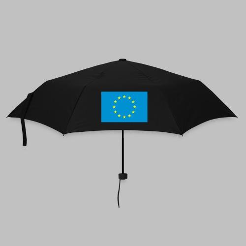Europaflagge (vorn) - Regenschirm klein - Regenschirm (klein)