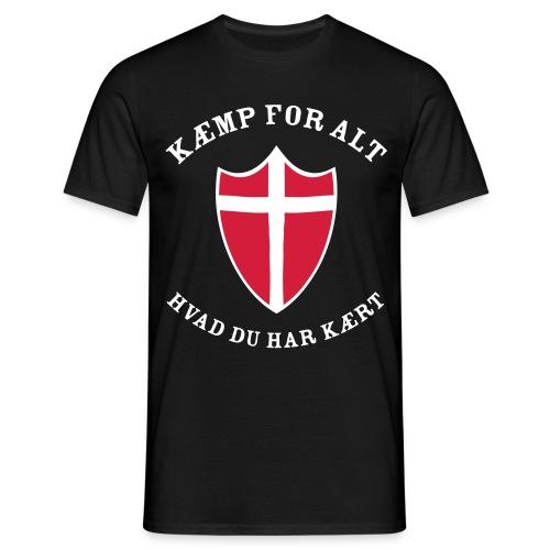 Kæmp... - Herre-T-shirt
