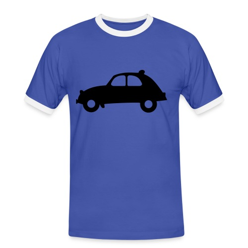 voiture - T-shirt contrasté Homme